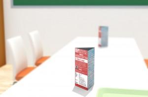 テーブルPOP広告